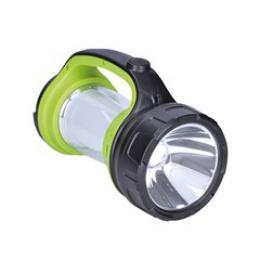 LED svítilna nabíjecí s lucernou, 3W Cree, 168lm + 200lm, zeleno-èerná, Solight WN27