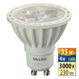 McLED LED spot 4 W GU10 3000 K 36 ° , ML-312.092.99.0 - zvìtšit obrázek