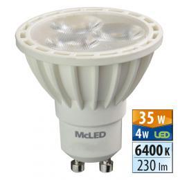 McLED LED spot 4 W GU10 6400 K 36 °, ML-312.101.99.0   - zvìtšit obrázek