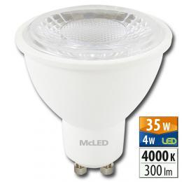 McLED LED spot 4 W GU10 4000 K 60 °, ML-312.136.99.0 - zvìtšit obrázek
