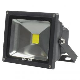 McLED LED reflektor Troll 30 èerná, 4000K, 2350lm, 30 W, ML-511.510.17.0
