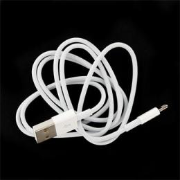 MD819 iPhone 5 Lightning Datový Kabel White 2m (Bulk)