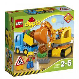 Pásový bagr a náklaïák LEGO Duplo 10812