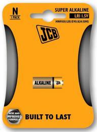 JCB alkalická baterie LR1, blistr 1 ks, JCB-LR01-1B