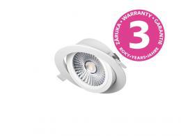PANLUX VP COB výklopný LED podhled / bodovka 6W, bílá - teplá bílá PN14100004