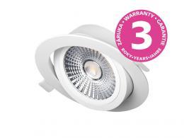 VP COB výklopný LED podhled / bodovka 18W, bílá - teplá bílá PANLUX PN14100005
