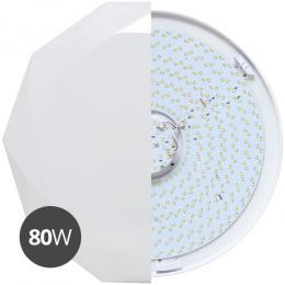 Moderní stropní svítidlo Ecolite DIAMANT WZSD-80/80W/LED