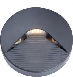 Svítidlo pro povrchovou montáž v interiéru i exteriéru SIDE 10 2W GRAY NW Greenlux GXPS085