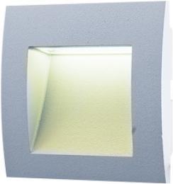 WALL 10 1,5W GRAY WW, GREENLUX GXLL008, vestavné venkovní svítidlo
