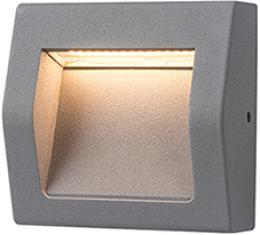 WALL 40 3W GRAY NW, GREENLUX GXPS061, pøisazené venkovní svítidlo
