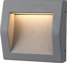 WALL 50 6W GRAY NW, GREENLUX GXPS064, pøisazené venkovní svítidlo