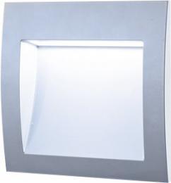 WALL 30 3W GRAY NW, GREENLUX GXLL015, vestavná venkovní svítidla