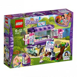 LEGO Friends Emma a umìlecký stojan 41332