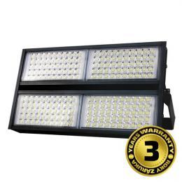 LED venkovní reflektor Pro+, 200W, 22000lm, 5000K, AC 230V, èerná, Solight WM-200W-P