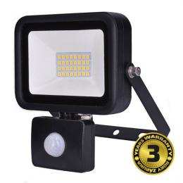 LED reflektor PRO se senzorem, 30W, 2550lm, 5000K, IP44, Solight WM-30WS-L
