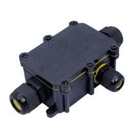 Vodìodolná propojovací krabièka IP68, 1x vstup, 2x výstup, 5-9/9-12mm, max 2,5mm2, Solight WW004