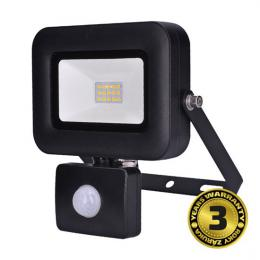LED reflektor PRO se senzorem, 10W, 850lm, 5000K, IP44, Solight WM-10WS-L