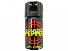 Obranný sprej pepøový Anti-Attack OC JET 40ml PEPPER-JET