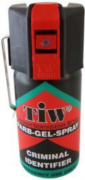 Sprej TIW Criminal Identifier barvící gel s klipem