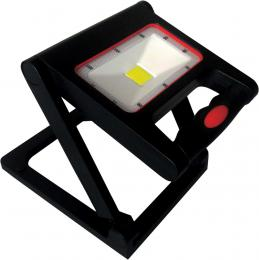 LED bateriový pøenosný reflektor DAISY MCOB BATTERY 10W, 4000K, 700lm, IP54, Greenlux GXDS170