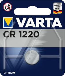 Varta Lithium CR1220 baterie 3V, 1 ks blistr