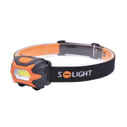 Èelová LED svítilna, 3W COB, 3x AAA, Solight WH25