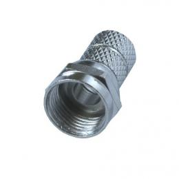 Anténní F konektor, šroubovací, prùmìr: 5mm, 5ks, sáèek, Solight SSN6010E