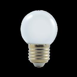 LED G45 230-240V 1W COLOURMAX E27 DENNÍ BÍLÁ, 250655000
