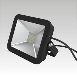 Reflektor ORION LED 230-240V 20W 6500K IP65 black, NBB 253202010