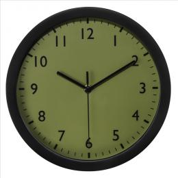 Hama Pure, nástìnné hodiny, 25 cm, tichý chod, olivovì zelené
