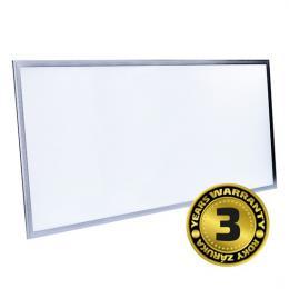 LED svìtelný panel, 80W, 6400lm, 4100K, Lifud, 60x120cm, 3 roky záruka, Solight WO12