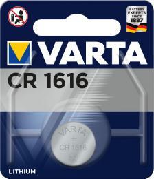 Varta Lithium CR1616 baterie 3V, 1 ks blistr