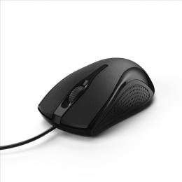 Optická kabelová myš Hama MC-200, èerná