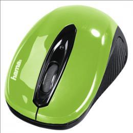 Optická myš Hama AM-7300, èerná/zelená