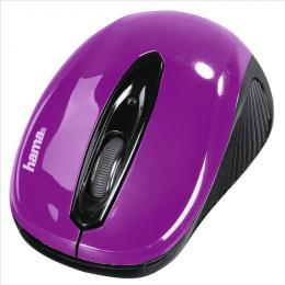 Optická myš Hama AM-7300, èerná/ostružinová