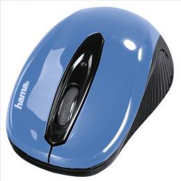 Optická myš Hama AM-7300, èerná/modrá, 86566