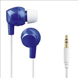 Dìtská sluchátka Thomson EAR3106, silikonové špunty, modrá/bílá, 132508