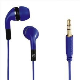 Sluchátka Hama Flip, silikonové špunty, modrá, 135638