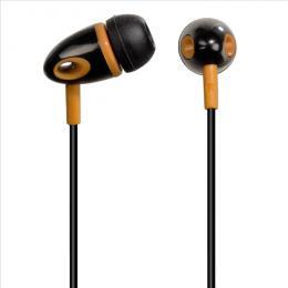 Sluchátka Hama ME-299, silikonové špunty, èerná/oranžová, 14299