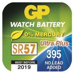 Knoflíková baterie do hodinek GP 395F, (SR57, SR927, V395), B3395F