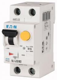 Proudový chrániè s nadp. ochranou PFL6-16/1N/B/003, 6kA, Eaton 286431