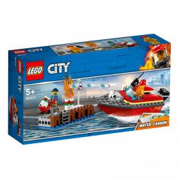 Požár v pøístavu LEGO City 60213