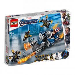 Captain America: útok Outriderù LEGO Avengers 76123 - zvìtšit obrázek