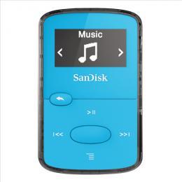 MP3 Sansa Clip JAM 8 GB jasnì modrý SanDisk - zvìtšit obrázek