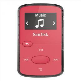 MP3 Sansa Clip JAM 8 GB jasnì rùžový SanDisk