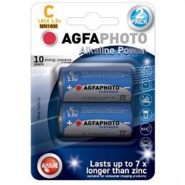 Power alkalická baterie LR14/C, blistr 2ks, AgfaPhoto AP-LR14-2B