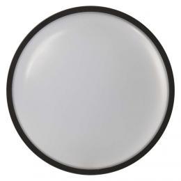 LED pøisazené svítidlo èerné, IP65 kruh 20W teplá bílá, EMOS ZM3031