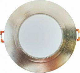 LED BONO-R Matt chrome 8W NW vestavné svítidlo Greenlux GXLL037