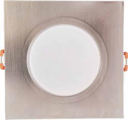 LED BONO-S Matt chrome 8W NW vestavné svítidlo Greenlux GXLL041