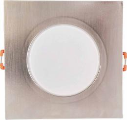 LED BONO-S Matt chrome 8W WW vestavné svítidlo Greenlux GXLL042